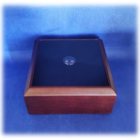 Wood Color with Black Top Multicolored Light Base